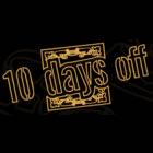 10 Days Off 2011: cartel por días