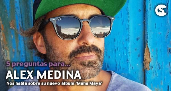 5 preguntas para Alex Medina