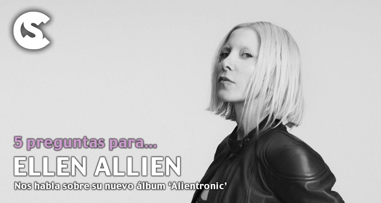 5 preguntas para Ellen Allien