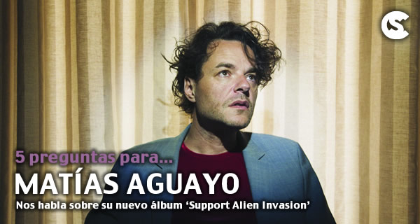 5 preguntas para Matías Aguayo