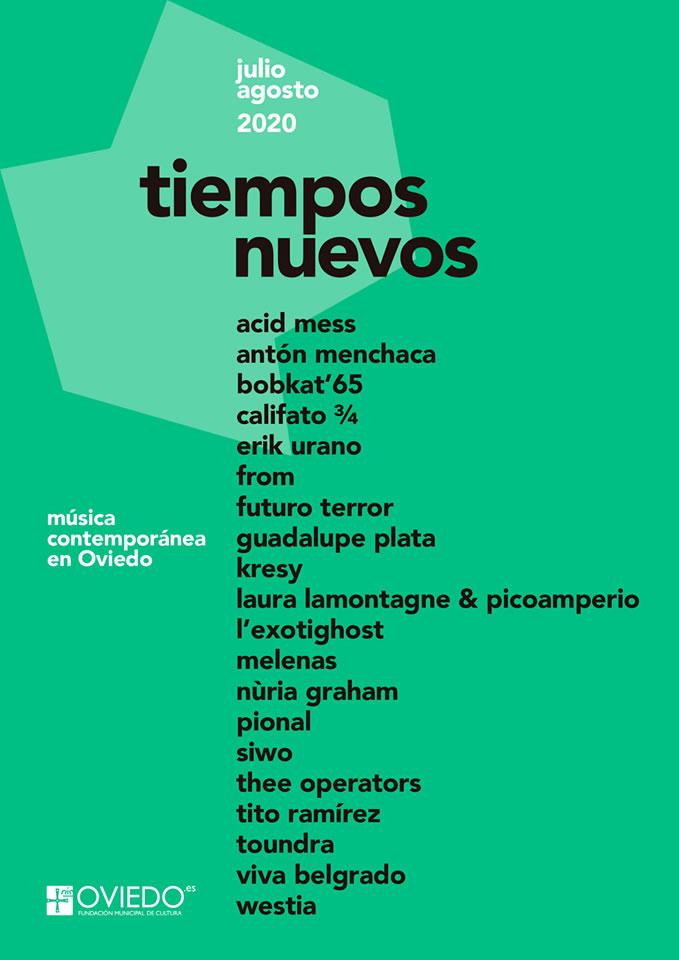 Pional y Kresy protagonizan la cita más electrónica del ciclo Tiempos Nuevos  en Oviedo // Clubbingspain.com