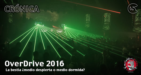 Crónica: OverDrive 2016