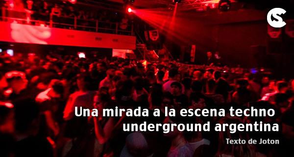 Una mirada a la escena techno underground argentina