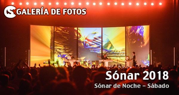 Sónar 2018 - Sónar de Noche: Sábado