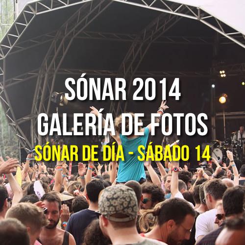Sónar 2014 - Sónar de Día - Sábado