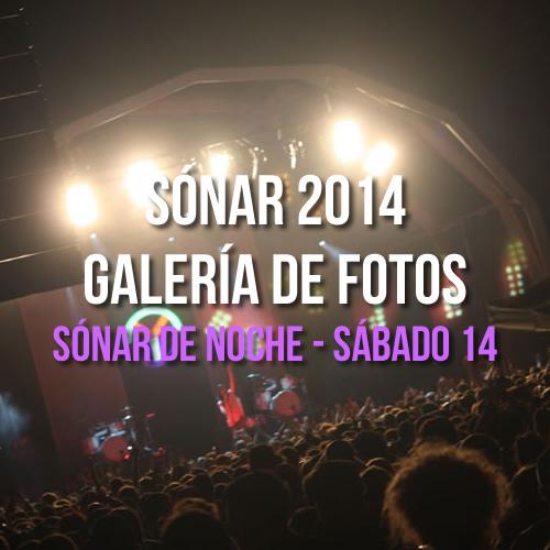 Sónar 2014 - Sónar de Noche - Sábado