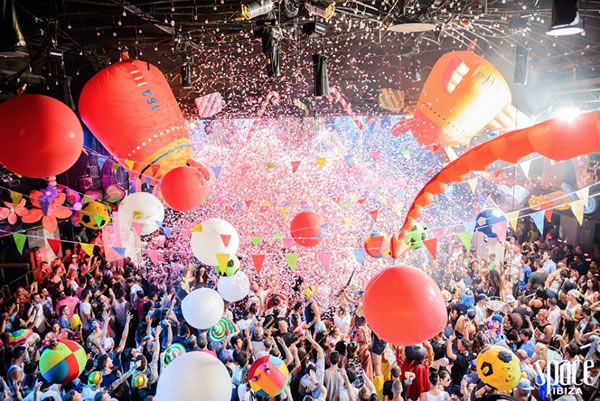 Kehakuma & Elrow @ Space Ibiza [06.09.2014]