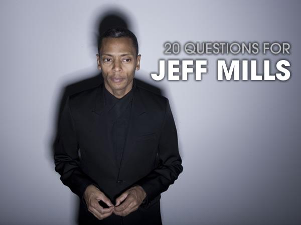 20 Preguntas para Jeff Mills