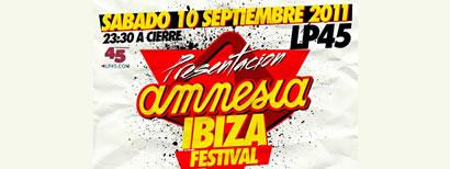 Presentación Amnesia Ibiza Festival