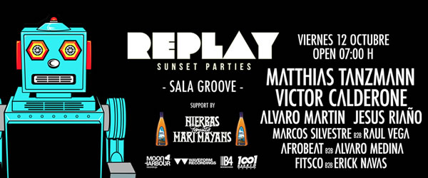 Replay repite en la sala groove for Sala groove